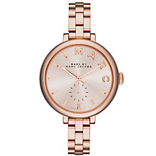Marc Jacobs Sally Ladies' Rose Gold Tone Bracelet Watch - Product number 3910040