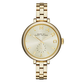 Marc Jacobs Sally Ladies' Gold Tone Bracelet Watch - Product number 3910059
