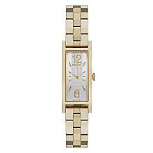 Dkny Pelham Ladies' Gold Tone Rectangle Bracelet Watch - Product number 3910350