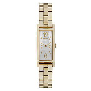 DKNY Pelham Ladies' Gold-tone Rectangle Bracelet Watch - Product number 3910350