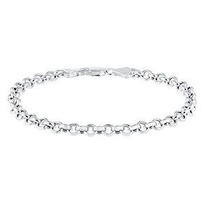 Sterling Silver Large Belcher Bracelet - Product number 3926508
