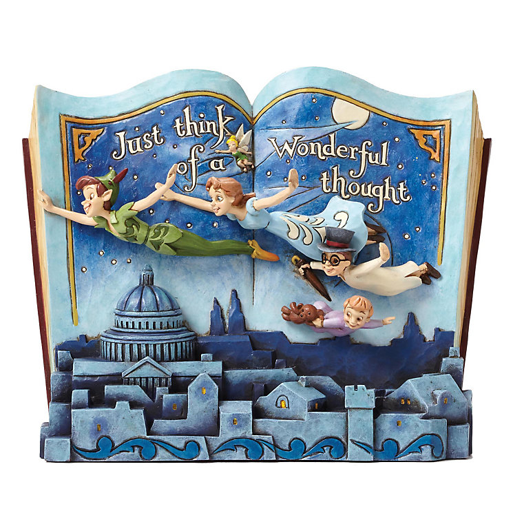 Disney Traditions Peter Pan Storybook Figurine - Product number 3931285