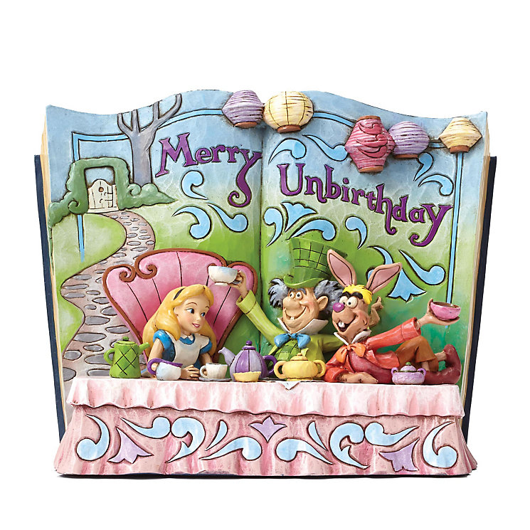 Disney Traditions Alice In Wonderland Storybook Figurine - Product number 3931293