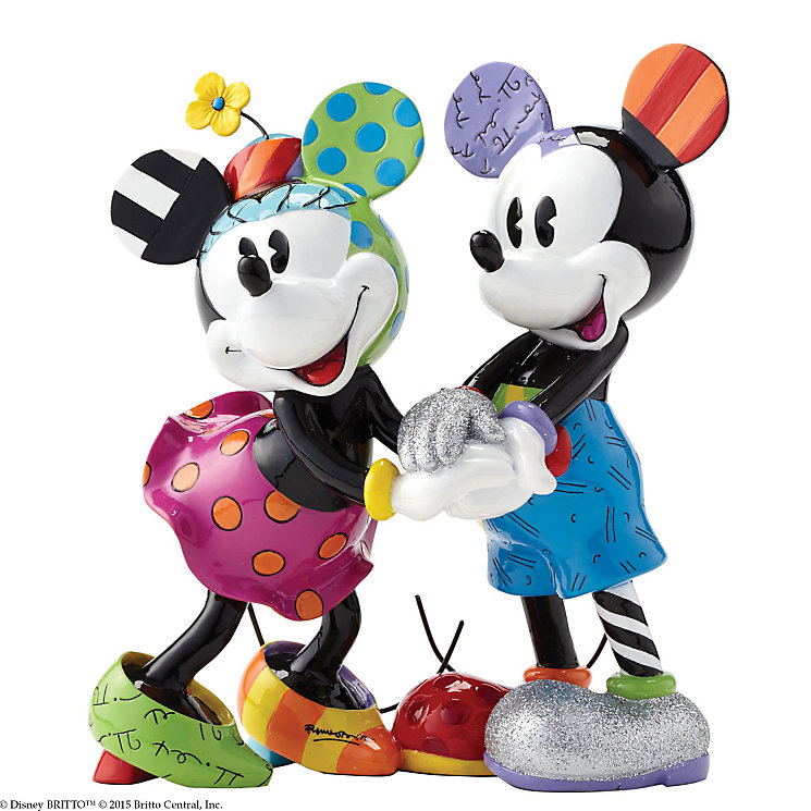 Disney Britto Mickey & Minnie Figurine - Product number 3931358