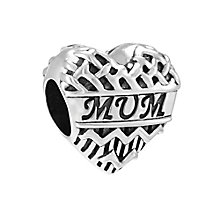 Chamilia Chevron Heart Mum Bead - Product number 3931889