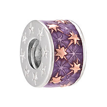 Chamilia Purple Starburst Spacer Bead - Product number 3932184