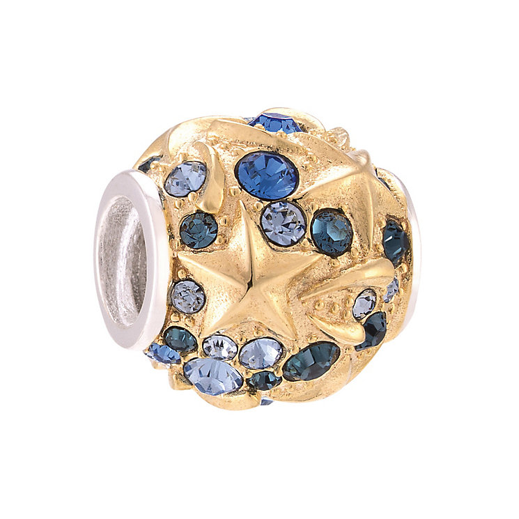 Chamilia Yellow Gold Plated Sky Treasure Bead - Product number 3932249