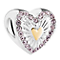 Chamilia Yellow Gold Plated Hearts Ablaze Bead - Product number 3932532
