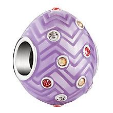 Chamilia Chevron Egg Bead - Product number 3932702