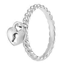 Chamilia Heart Lock Ring S - Product number 3932834