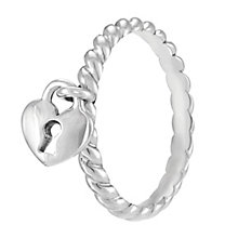 Chamilia Heart Lock Ring M - Product number 3932842