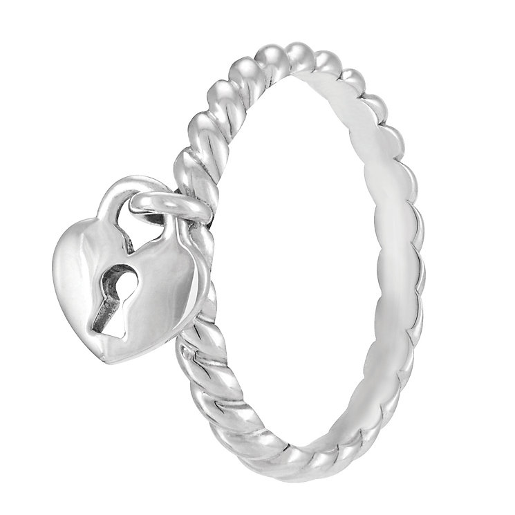 Chamilia Heart Lock Ring L - Product number 3932850