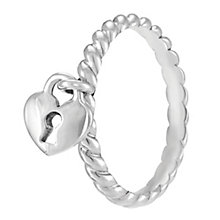 Chamilia Heart Lock Ring XL - Product number 3932869