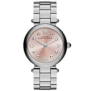 Marc Jacobs Ladies' Stainless Steel Pink Bracelet Watch - Product number 3934098