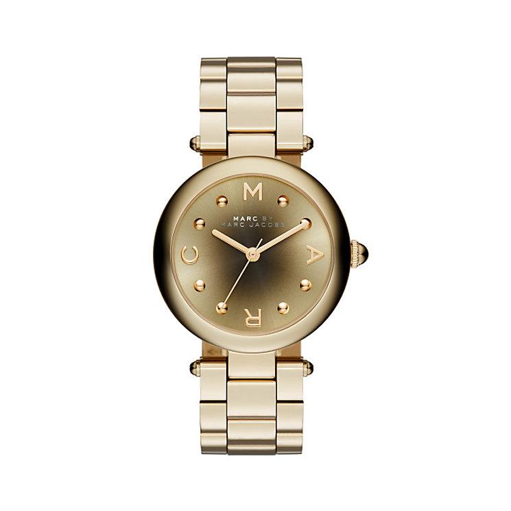 Marc Jacobs Ladies' Gold Tone Bracelet Watch - Product number 3934101