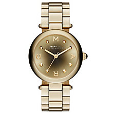 Marc Jacobs Ladies' Gold Tone Bracelet Watch - Product number 3934101