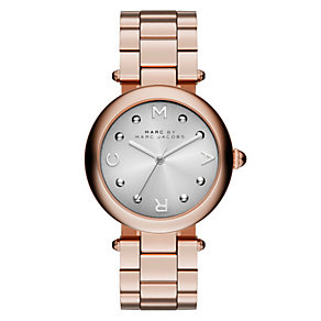 Marc Jacobs Ladies' Rose Gold Tone Bracelet Watch - Product number 3934128