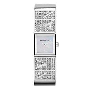 Armani Exchange Ladies' Mother of Pearl Bracelet Watch - Product number 3936872
