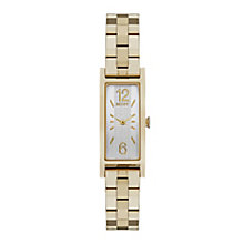 DKNY Ladies' Gold Plated Stainless Steel Bracelet Watch - Product number 3942724