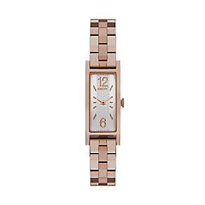 DKNY Ladies' Rose Gold Plated Bracelet Watch - Product number 3942740
