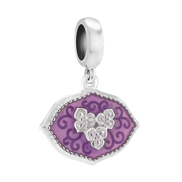 Chamilia You Are Loved Sterling Silver & Enamel Charm - Product number 3943224