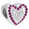 Chamilia Hearts Ablaze Sterling Silver & Swarovski Bead - Product number 3943259
