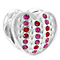Chamilia Pinstripes Siam and Fuchsia Swarovski Crystal Bead - Product number 3943275