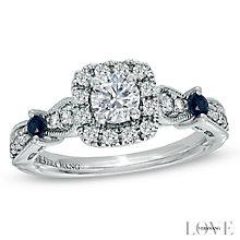 Vera Wang  platinum 0.70ct H1/SI2I1 diamond ring - Product number 3969606