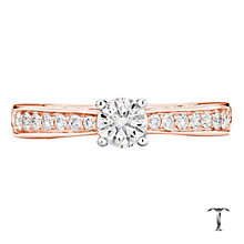 Tolkowsky 18ct Rose Gold 0.66ct I-I1 Diamond Ring - Product number 3978869