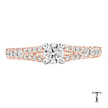 Tolkowsky 18ct Gold 0.50ct Round Cut Diamond Ring - Product number 3982327