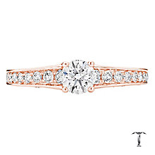 Tolkowsky 18ct Gold 0.88ct Round Cut Diamond Ring - Product number 3982815