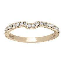 Neil Lane 14ct gold 0.25ct diamond shaped band - Product number 4000552