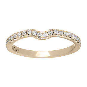 Neil Lane 14ct gold 0.25ct diamond shaped ring - Product number 4000552