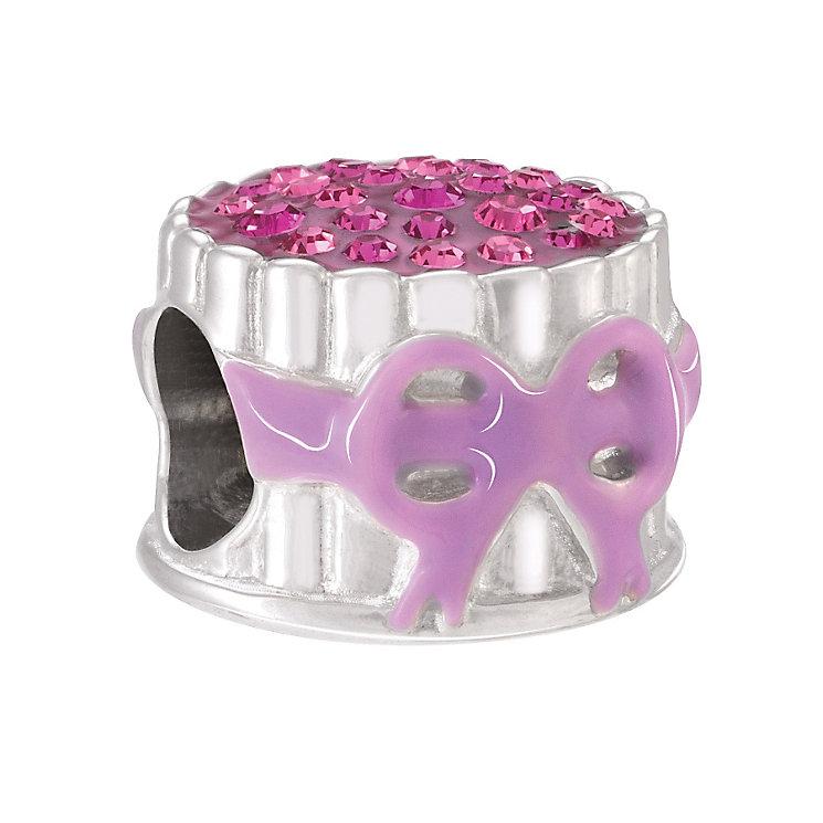 Chamilia Lady Finger Cake Swarovski & Enamel Bead - Product number 4002199