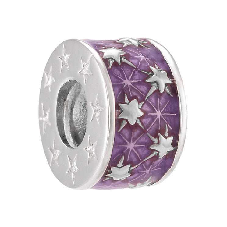 Chamilia Starburst Sterling Silver & Enamel Spacer - Product number 4002237