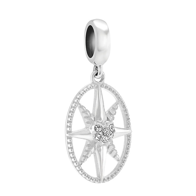 Chamilia Follow Your Heart Sterling Silver & Swarovski Charm - Product number 4002261