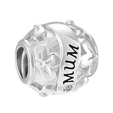 Chamilia Mum Love Flowers Sterling Silver & Diamond Bead - Product number 4002342