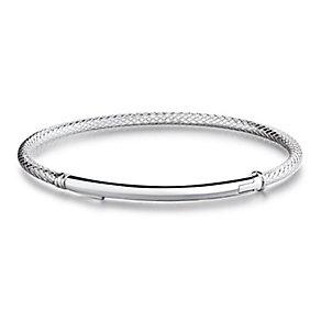 Chamilia Bright Finish Sterling Silver Bar Bracelet Medium - Product number 4002482