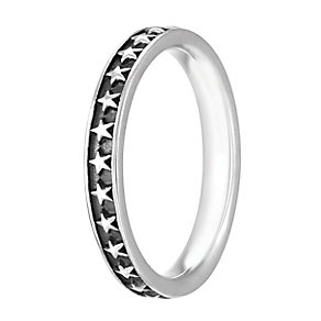 Chamilia Sterling Silver Starstruck Ring M - Product number 4006143