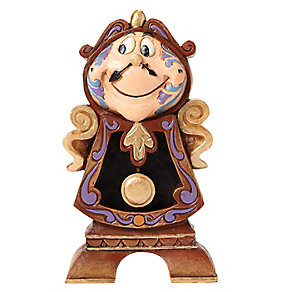 Disney Traditions Cogsworth Keeping Watch Figurine - Product number 4006801