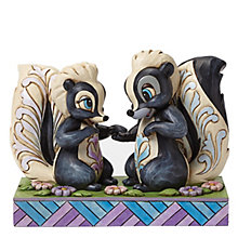 Disney Traditions Flower & Miss Skunk Figurine - Product number 4006828