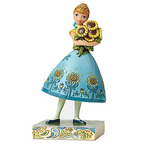 Disney Traditions Frozen Spring In Bloom Anna Figurine - Product number 4006844
