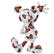 Disney Britto Mickey Wrapped In Hearts Figurine - Product number 4006879