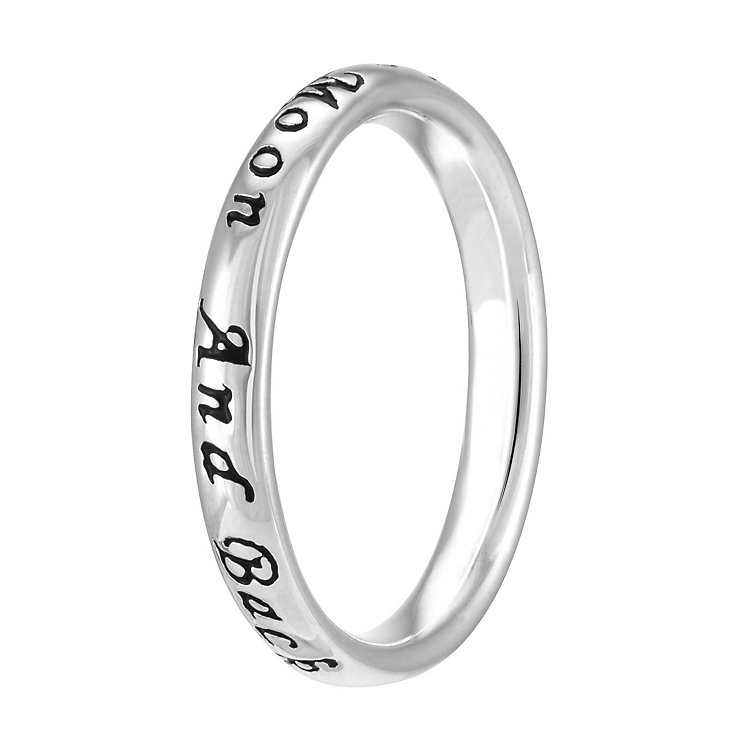 Chamilia Sterling Silver Moon & Back Ring M - Product number 4018664