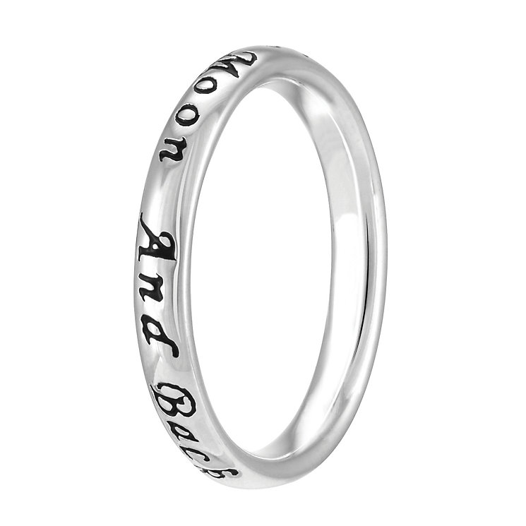 Chamilia Sterling Silver Moon & Back Ring L - Product number 4018842