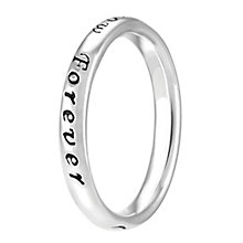 Chamilia Sterling Silver Today Tomorrow Forever Ring XS - Product number 4020987