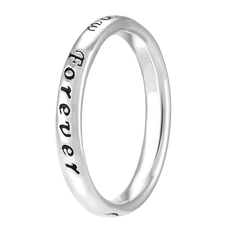 Chamilia Sterling Silver Today Tomorrow Forever Ring L - Product number 4021045
