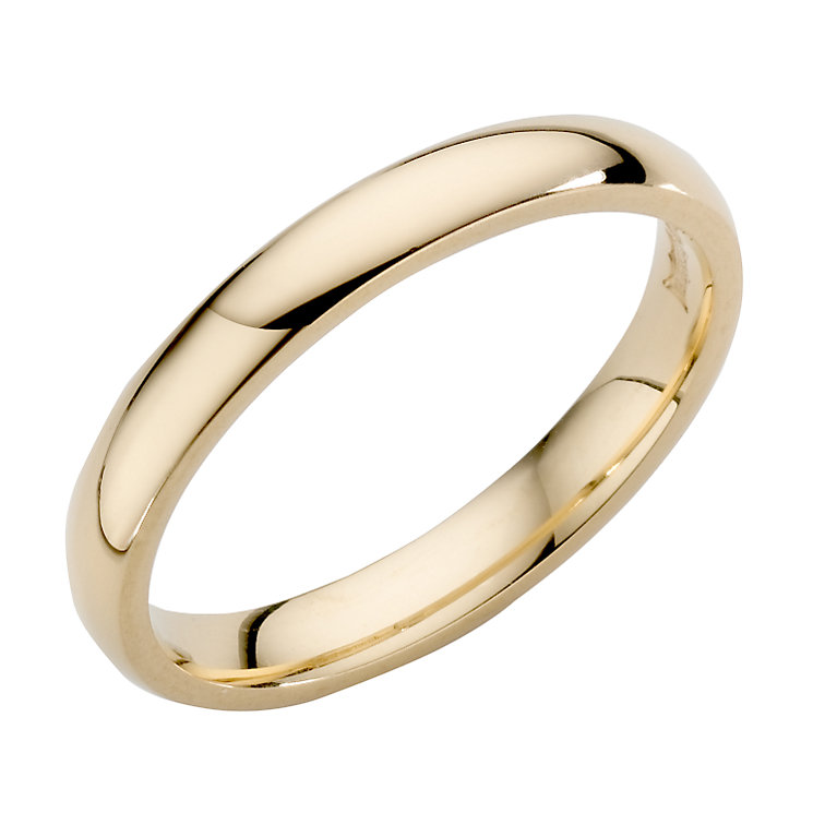 18ct Yellow Gold  3mm Super heavy Weight Wedding Ring - Product number 4022122