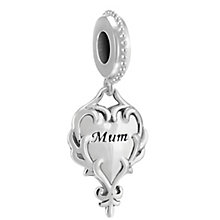 Chamilia A Heart's Reflection Sterling Silver Charm - Product number 4034880