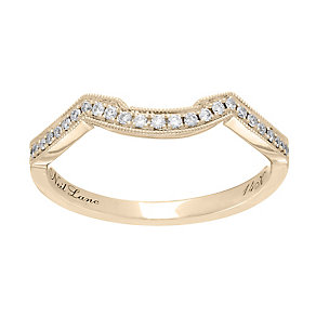 Neil Lane 14ct gold 0.12ct diamond shaped ring - Product number 4043723
